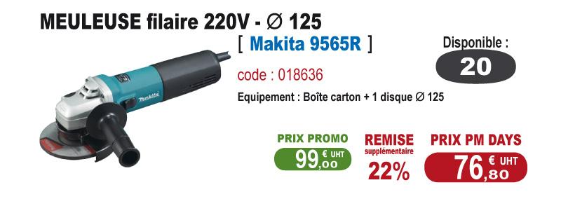 Meuleuse 220V - Makita 9565R